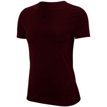Nike T-ShirtsNike Pro Women's Short-Sleeve Mesh Training Top - AO9951-638 -