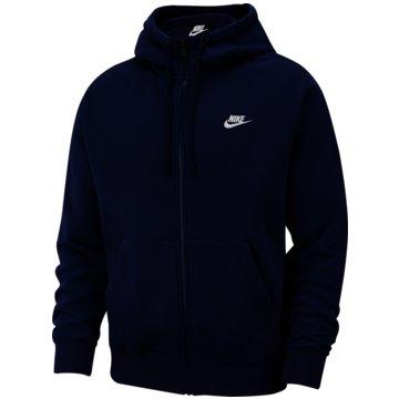 Nike SweatjackenNike Sportswear Club Fleece Men's Full-Zip Hoodie - BV2645-410 -