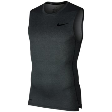 Nike TanktopsPro Tight Top SL grau
