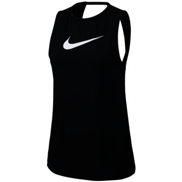 Nike TopsNike Pro Women's Swoosh Tank - CJ3771-010 schwarz