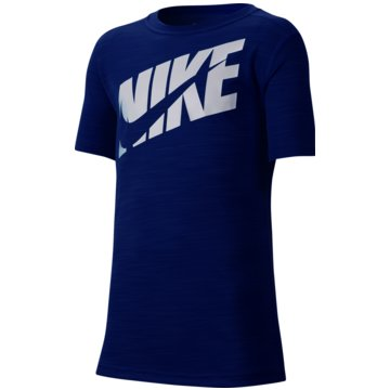 Nike T-ShirtsNike Big Kids' (Boys') Short-Sleeve Training Top - CJ7736-480 -