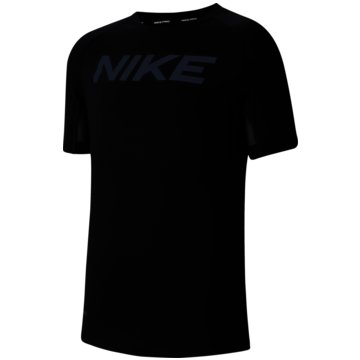 Nike T-ShirtsPRO - CK3760-010 schwarz