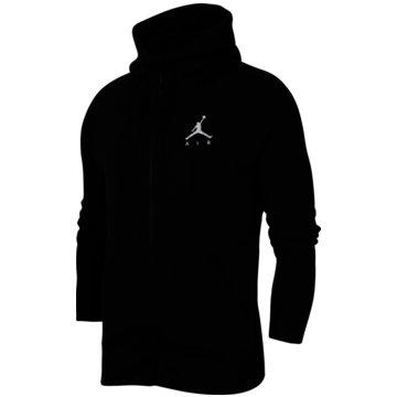 Nike SweatjackenJordan Jumpman Air Men's Fleece Full-Zip Hoodie - CK6679-010 schwarz