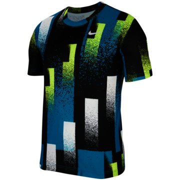 Nike T-ShirtsNikeCourt Dri-FIT Men's Printed Tennis Top - CK9820-449 -