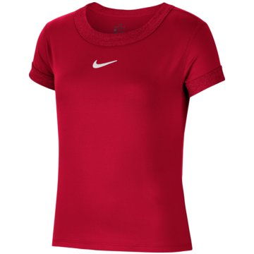 Nike T-ShirtsNikeCourt Dri-FIT Girls' Tennis Top - CQ5386-616 -