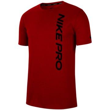 Nike T-ShirtsPRO - CU4975-657 rot