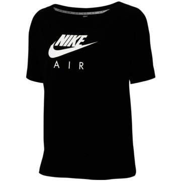 Nike T-ShirtsNike Air Women's Short-Sleeve Top - CU5558-010 schwarz