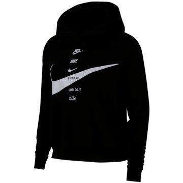 Nike HoodiesNike Sportswear Swoosh Women's Hoodie - CU5676-011 schwarz