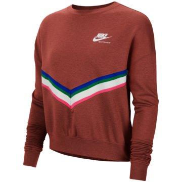 Nike SweatshirtsSportswear Women's Fleece Crew - CU5877-685 rot