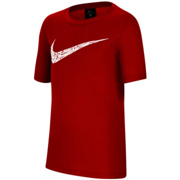 Nike T-ShirtsNike Big Kids' (Boys') Short-Sleeve Training Top - CU9119-657 -