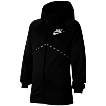 Nike SweatjackenNike Sportswear Big Kids' (Boys') Full-Zip Hoodie - CU9193-010 schwarz