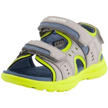 Geox Offene Schuhe grau