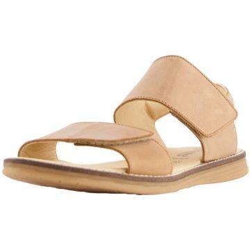 Däumling Offene Schuhe beige