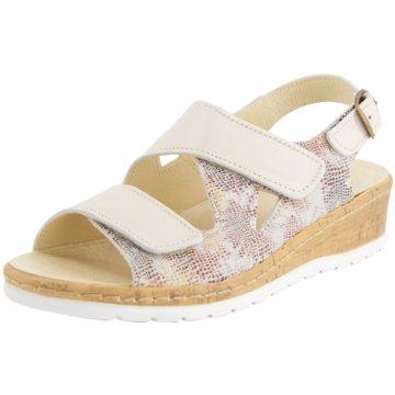 Portina Komfort Sandale beige