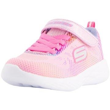 Skechers Kleinkinder MädchenGo Run 600 pink