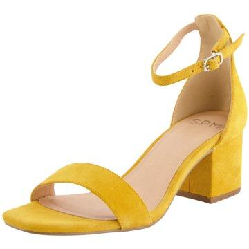SPM Shoes & Boots Top Trends Sandaletten gelb