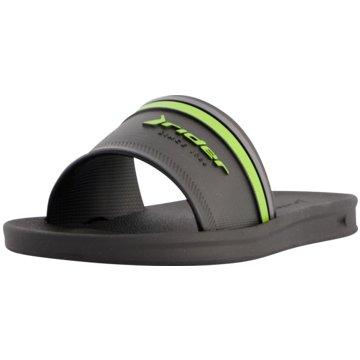 Rider Offene Schuhe schwarz