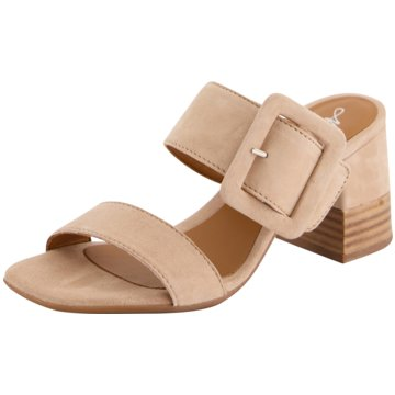 Alpe Woman Shoes Top Trends Pantoletten beige