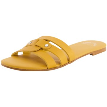 Casta E Dolly Klassische Pantolette gelb