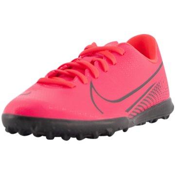 Nike Multinocken-SohleNike Jr. Mercurial Vapor 13 Club TF - AT8177-606 rot
