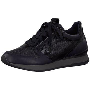 Tamaris Sneaker LowDa.-Schnürer blau