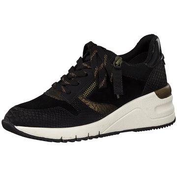 Tamaris Sneaker LowG/Tanaro schwarz