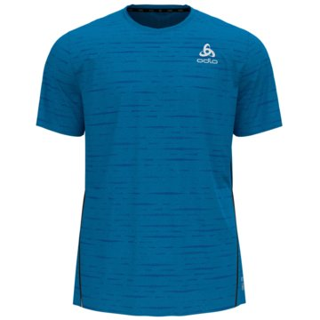 ODLO T-ShirtsT-SHIRT S/S CREW NECK ZEROWEIG - 313322 blau