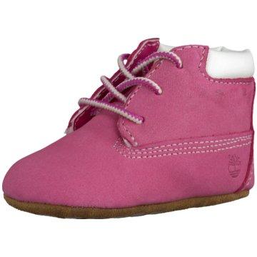 Timberland Kleinkinder MädchenCrib Booties Baby Kleinkinderschuhe & Mütze pink pink