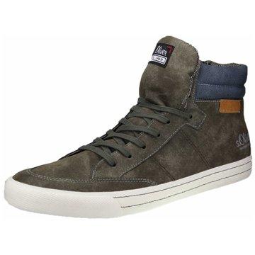 s.Oliver Sneaker High oliv