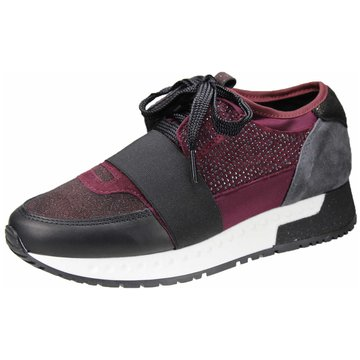 Alpe Woman Shoes Komfort Schnürschuh rot