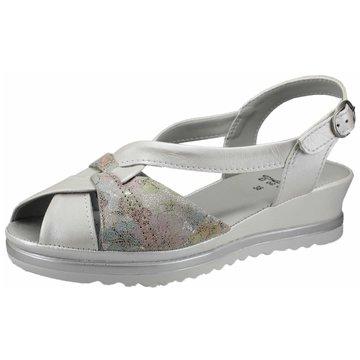 Aco Komfort Sandale weiß