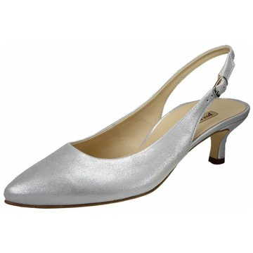 Paul Green Slingpumps silber