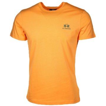 La Martina T-Shirts basic orange