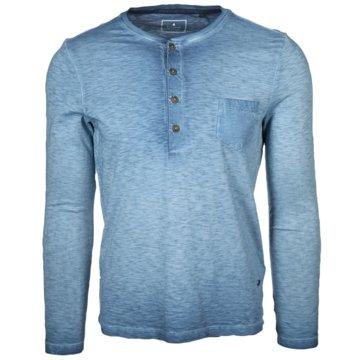 Ragman Langarmshirts blau