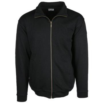 wind sportswear Sweatjacken schwarz