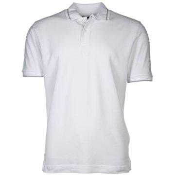 La Martina Poloshirts weiß