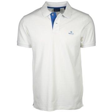 Gant Poloshirts weiß