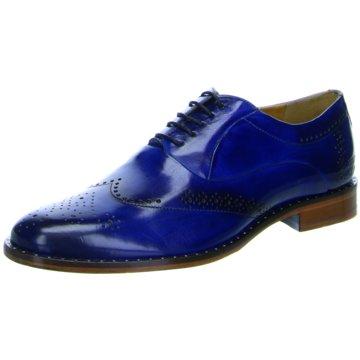 Melvin & Hamilton Business Schnürschuh blau