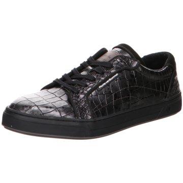 Floris van Bommel Sneaker LowFloris Sport DarkSilver Croco grau