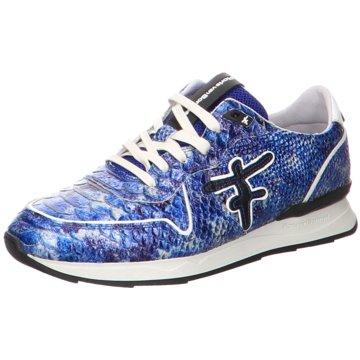 Floris van Bommel Sneaker LowFloris Sport Blue Snake Patent blau