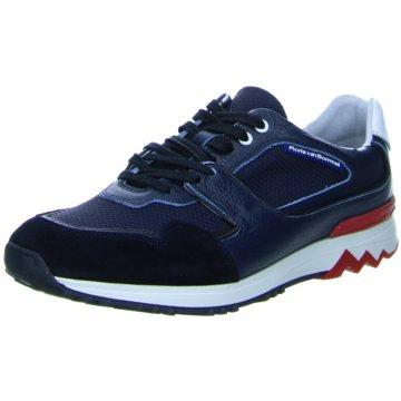 2afe73a5f21236 Floris van Bommel Sneaker LowFloris Sport DarkBlue Suede blau