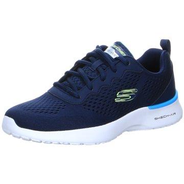 Skechers Sportlicher SchnürschuhTuned Up blau