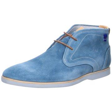 Floris van Bommel Schnürstiefelette blau