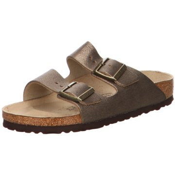 Birkenstock Klassische PantoletteArizona BS[Sandals] grau