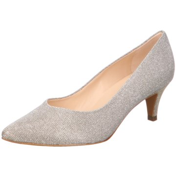 Peter Kaiser Pumps silber