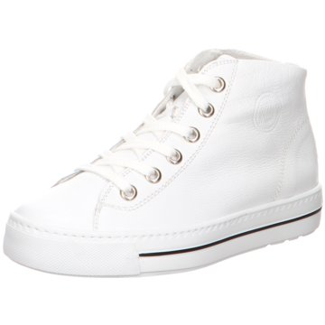Paul Green Sneaker High4735 weiß