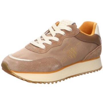 Gabor Plateau Sneaker braun