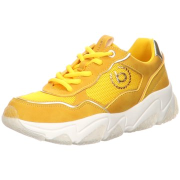 Bugatti Sneaker Low gelb