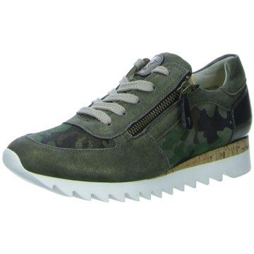 Paul Green Sportlicher Schnürschuh grün