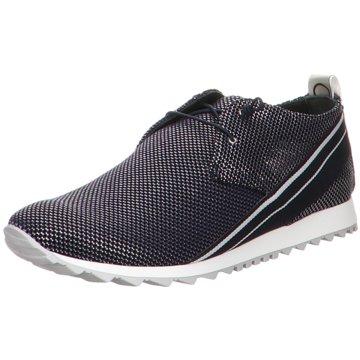 Donna Carolina Sneaker Low schwarz